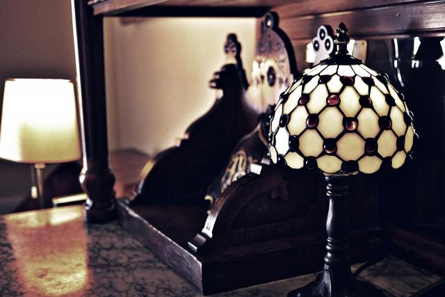 高慢と偏見 イメージ画像 ランプ