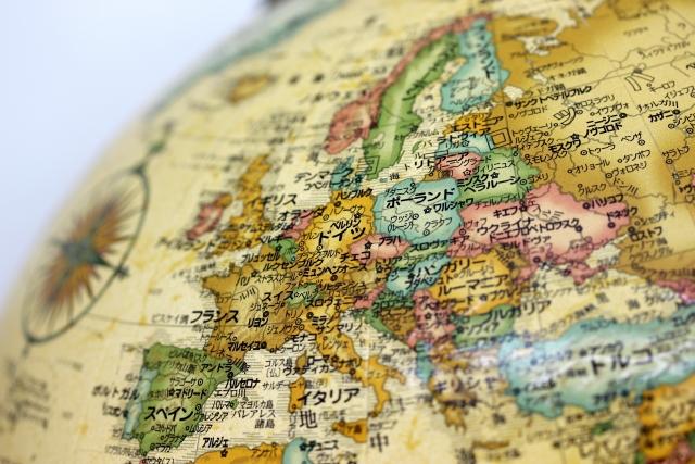 イメージ画像 地図 ヨーロッパ